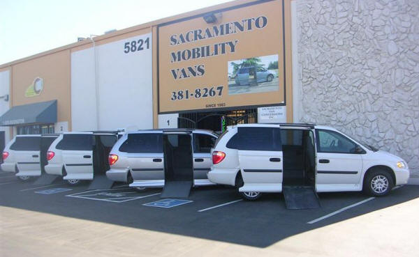Wheelchair Van Dealer in Sacramento