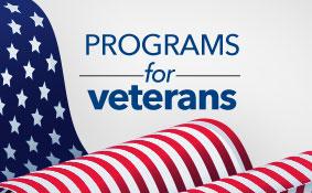 Programs for veterans