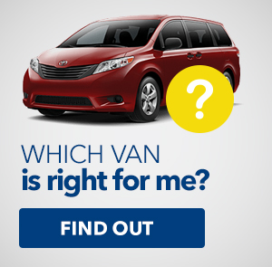 Which van is right for me?