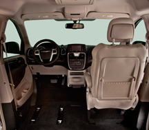 Chrysler Northstar Accommmadating Vertical Space
