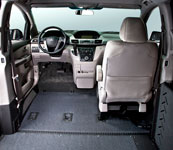 Honda Odyssey Summit Removable Front Seats