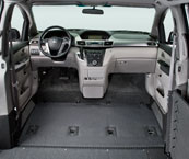 Honda Odyssey Summit Obstacle Free Front Row