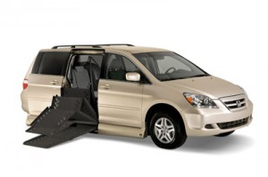 Honda Odyssey with the VMI Summit Conversion