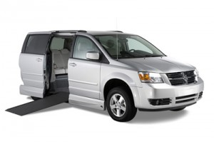 Dodge Grand Caravan with the VMI Northstar Conversion