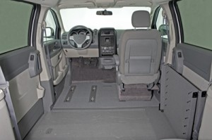 VMI Summit Conversion Wheelchair Van Interior