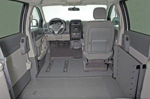 VMI Summit Conversion Wheelchair Van Interior