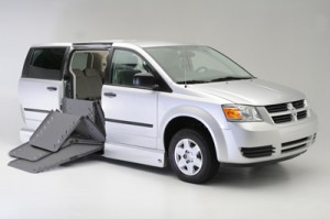Dodge Grand Caravan with the VMI Summit Conversion