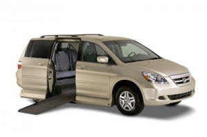 Honda Odyssey with a VMI Conversion