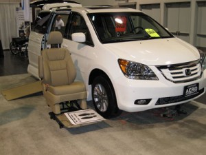 Honda Odyssey with the VMI Northstar Conversion