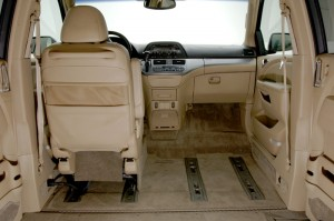 VMI's Removable Front Seats