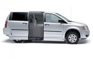 VMI Summit Fold Out Ramp in Wheelchair Van
