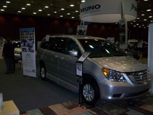 2010 Honda Odyssey with the VMI Summit Conversion