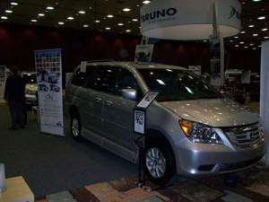 2010 Honda Odyssey with the VMI Summit Conversion