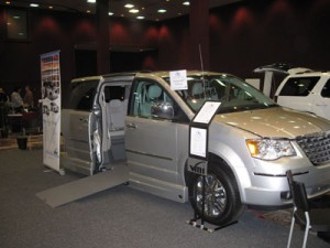 2010 Chrysler Town & Country with the VMI Northstar Conversion