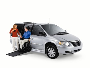 2003 Chrysler VMI Wheelchair Accessible Van