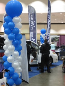 MobilityWorks Booth at the Abilities Expo
