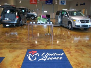United Access Showroom at St. Louis