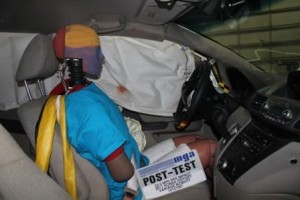 VMI Wheelchair Van Crash Test