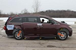 2011 VMI Honda Odyssey - Rear Crash Test