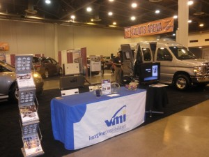 VMI Booth at the Abilities Expo