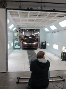 How a Wheelchair Van is Made Photo