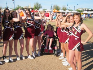 Show us your muscles at MDA Muscle Walk