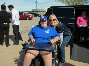 Courtney & Monique at MDA Muscle Walk