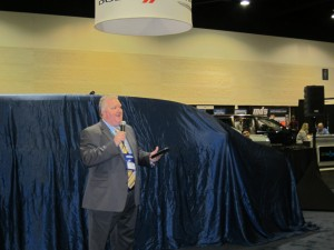 Randy Schiller - at the unveil of the VMI Toyota Summit
