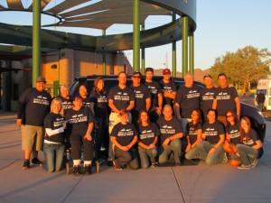 VMI Volunteers at MDA annual BBQ Event