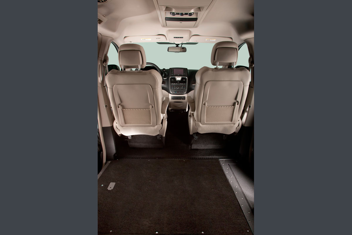 Back Seat Out of Chrysler Town Country Northstar Wheelchair Van