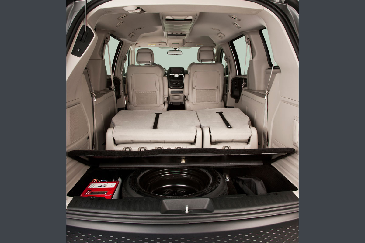 Sparetire on Dodge Grand Caravan Spare Tire Location