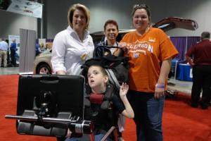 Families enjoying the Abilities Expo