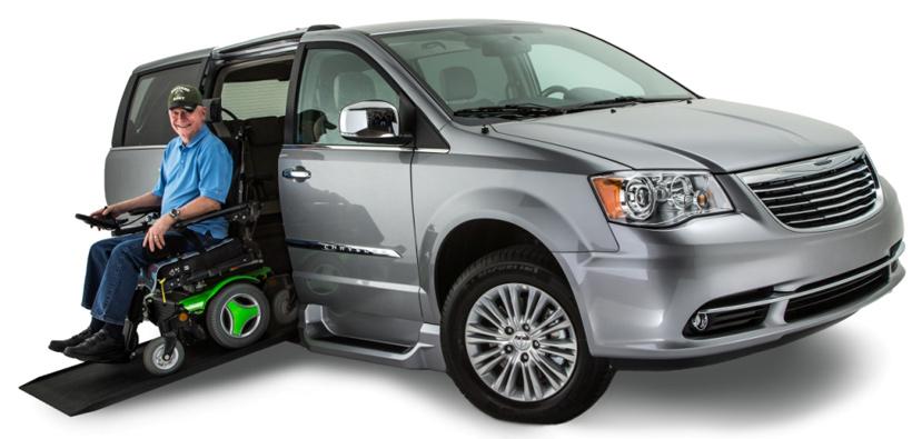 Veteran Using Honda Northstar Wheelchair Van