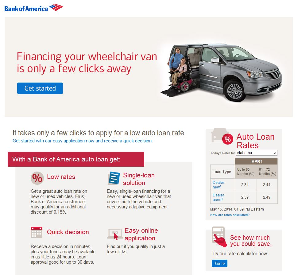 VMI and Bank of America are offering wheelchair users a ...
