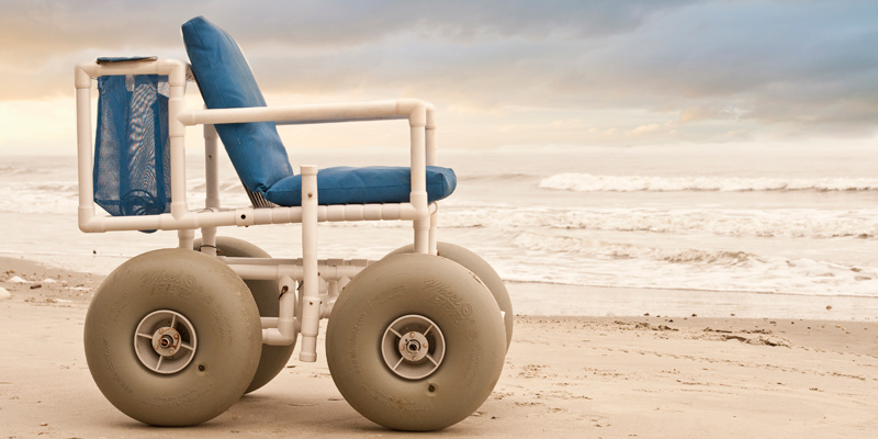 Beach Wheelchair for Vacation