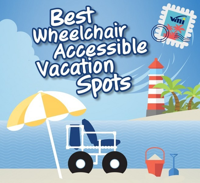 Best Wheelchair Accessible Vacation Spots Infographic