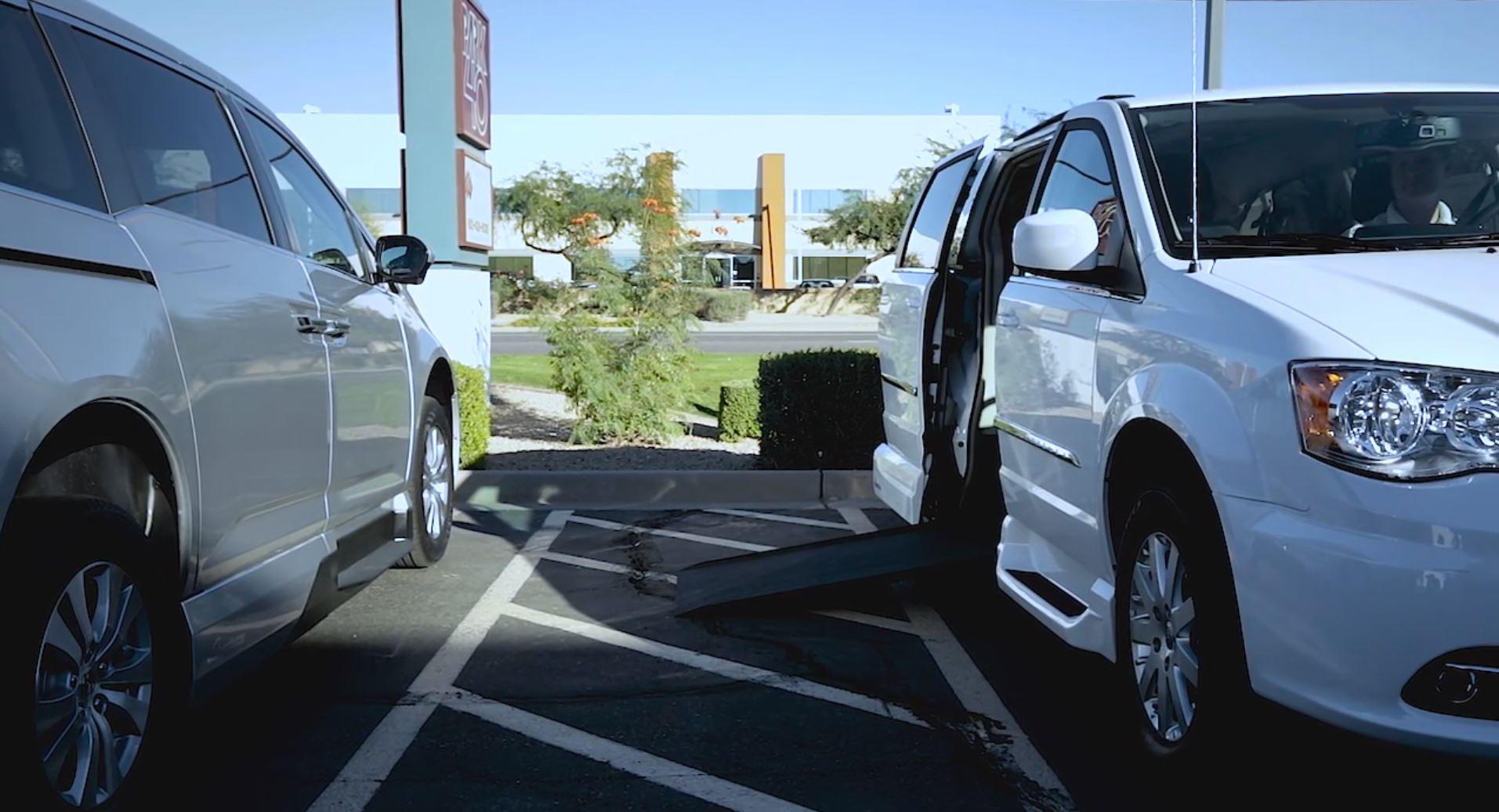 Respecting Wheelchair Van Parking Spaces
