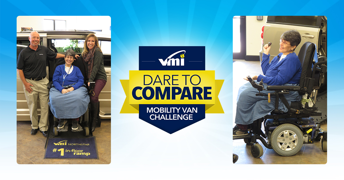 ROCHESTER NY April 20 2016 Vantage Mobility International VMI Announced Today That Denise Cody Of Liverpool Was Selected As The Winner