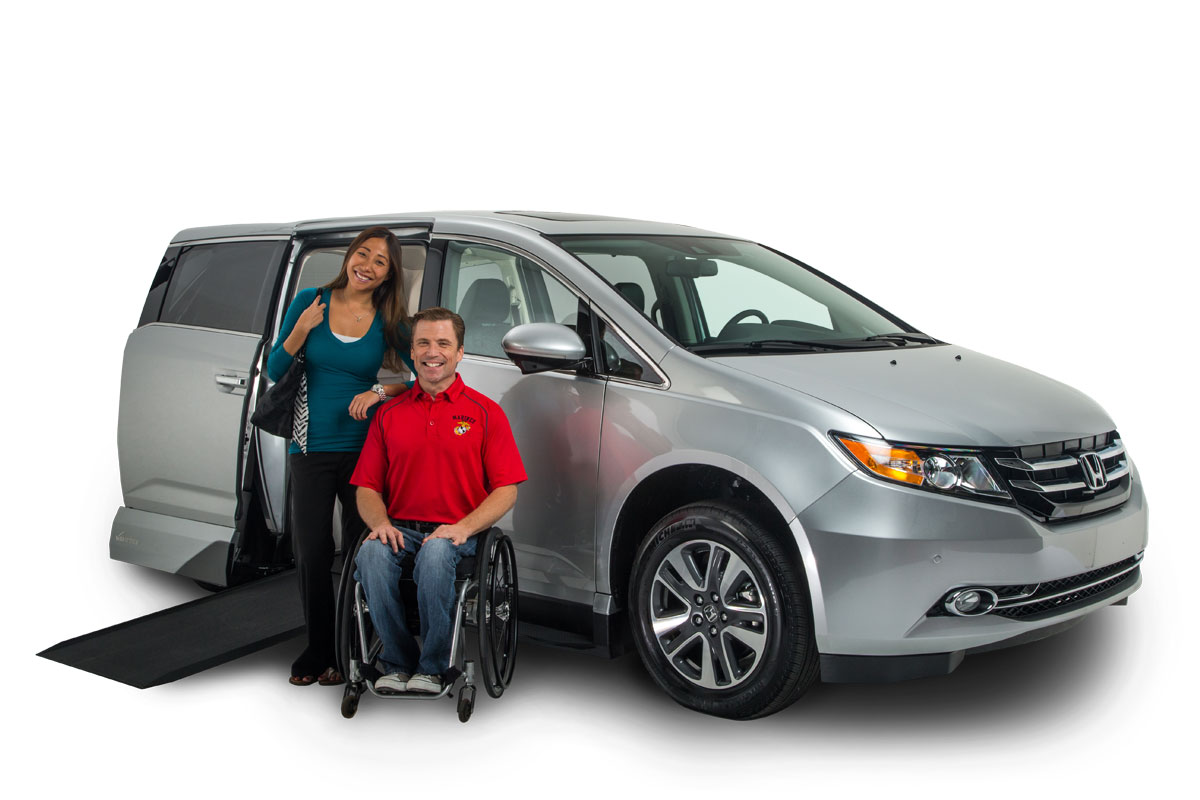 vmi honda odyssey with northstar handicap wheelchair vans vmi. Black Bedroom Furniture Sets. Home Design Ideas