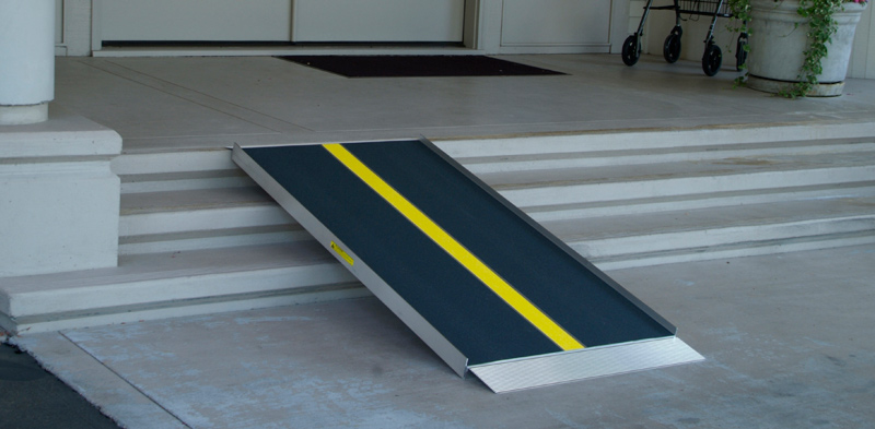 Portable Doorway R& for Homes & Portable Wheelchair Ramps for Homes: What to Know | Vantage ...