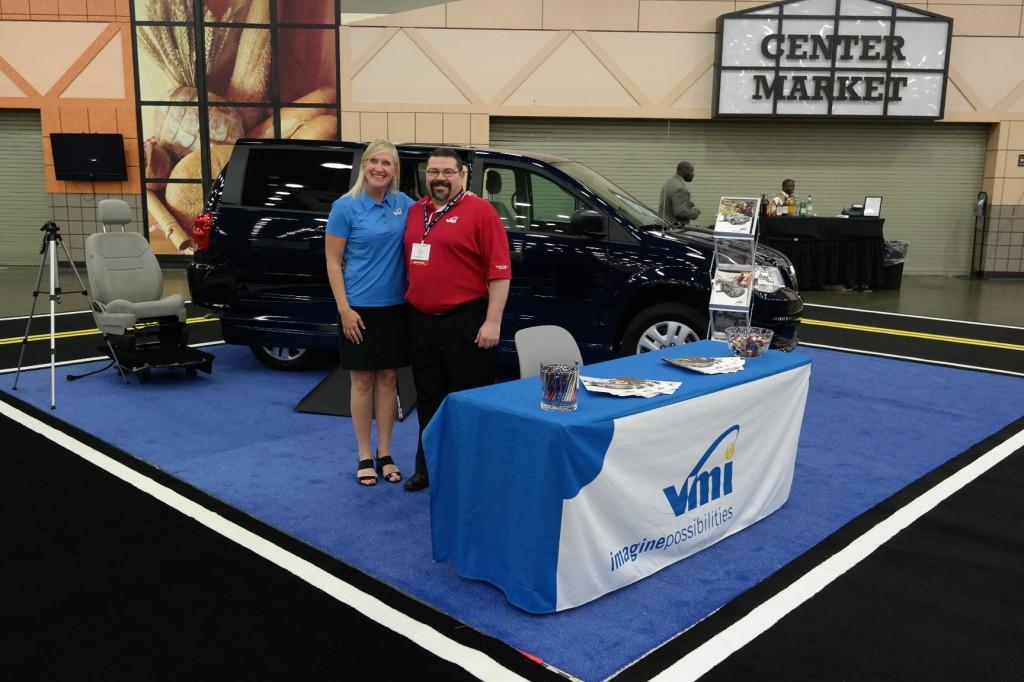 VMI Northstar E Caregiver Wheelchair Van at AOTA Conference