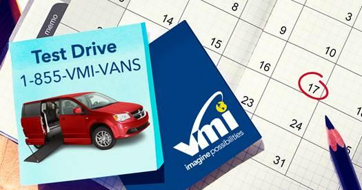 Test Drive A VMI Van