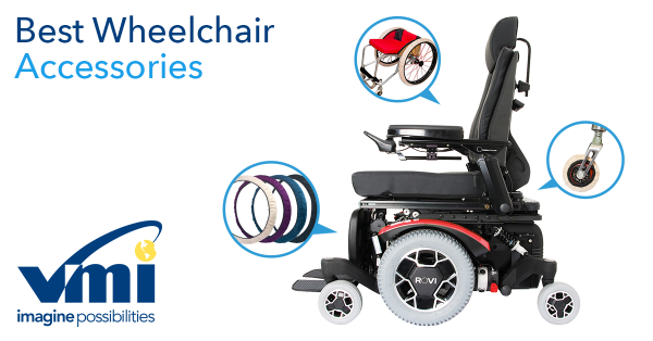 Wheelchair accessories and upgrades