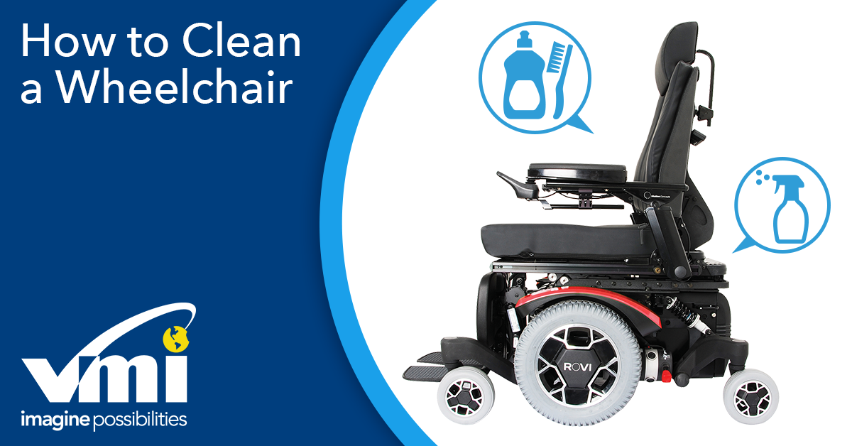 How to Clean a Power Chair and Wheelchair