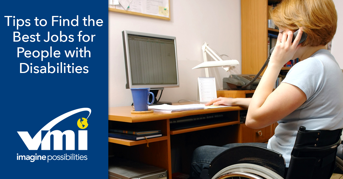 5 Best Jobs For People With Disabilities
