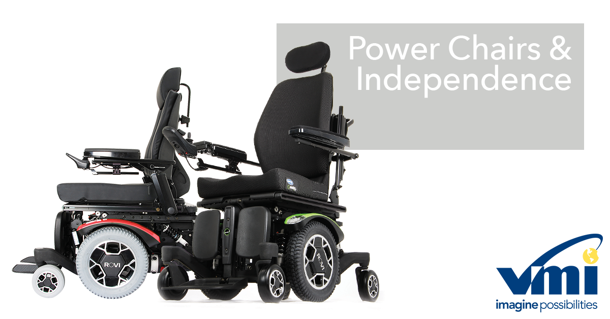 power chairs are motorized wheelchairs that enable user independence