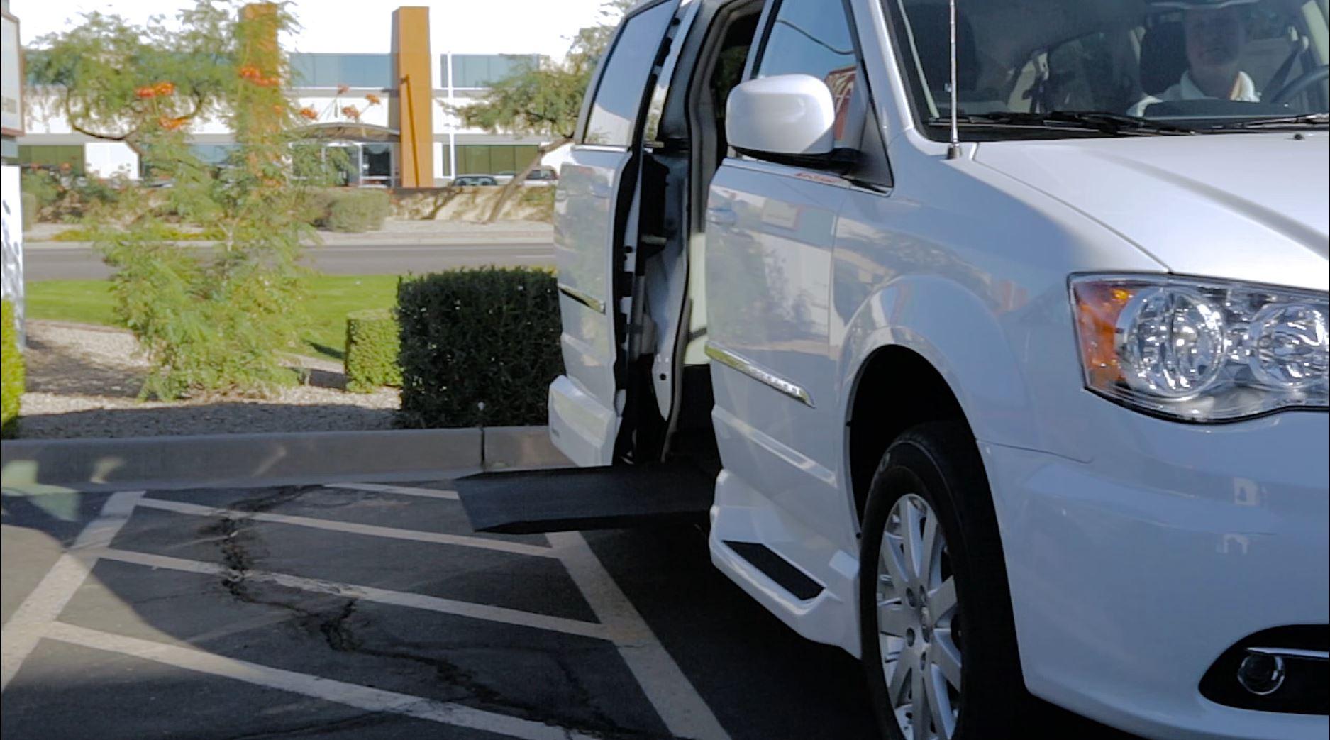 Parking your Wheelchair Accessible Van