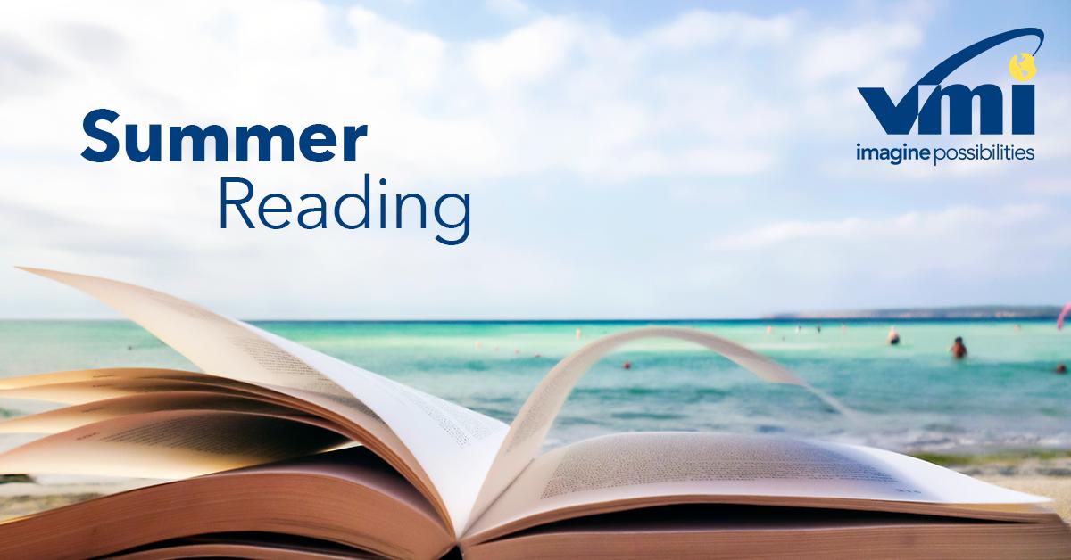summer book reading on a beach