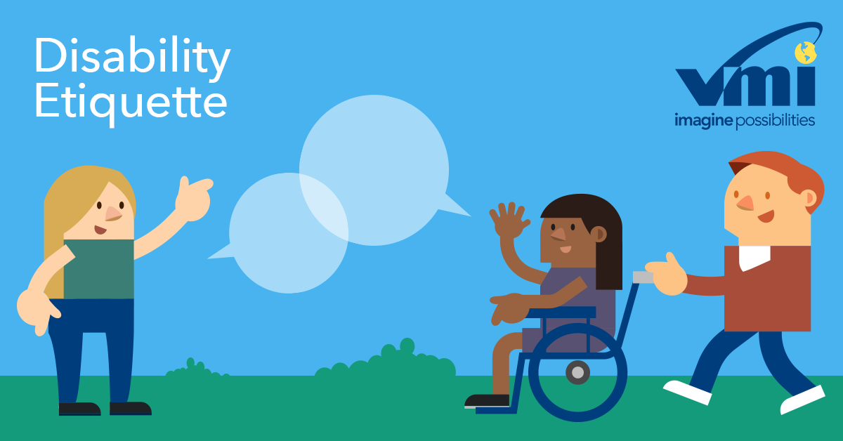 wheelchair etiquette is important to people with disabilities