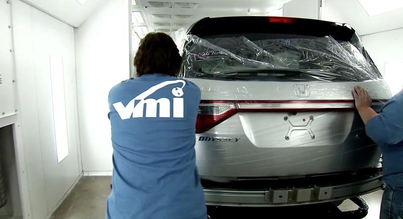 VMI wheelchair van rolls through production